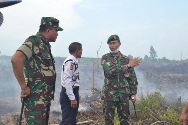 Kekesalan Berlanjut ke Dumai, /Gagal Cegah Karhutla/ Dandim 0320 Dimarahi Pangdam