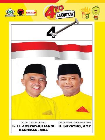 Partai Golkar Optimis Andi Rachman-Suyatno Raih 40 Persen Suara di Kampar