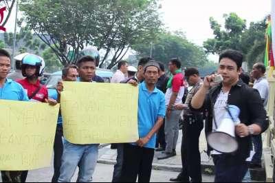 Ratusan Aktivis Mahasiswa Riau Layangkan Lima Tuntutan Terkait Asap