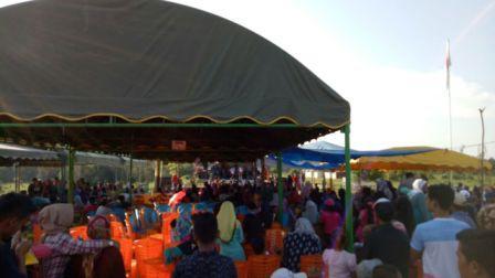 Peringatan HUT RI ke-72 , Gebyar Konser Danau Napangga Rohil