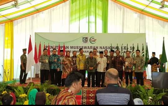 Mahfud MD Komentari Penundaan Penahanan Setnov Oleh KPK Saat Acara Penutupan Munas Kahmi di Medan