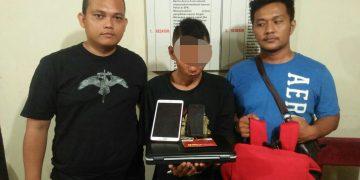 Tim Buser Polsek Siak Hulu dan Polsek Tanah Putih, Tangkap Pelaku Pencurian di Daerah Ujung Tanjung