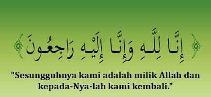HIMAROHU Mengucapkan Belasungkawa Atas meninggalnya Ibunda Nasrul Hadi Calon Wakil Bupati Rokan Hulu