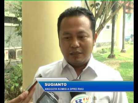 Legislator Riau Pertanyakan Sikap Gubri Tak Kunjung Isi Wakil