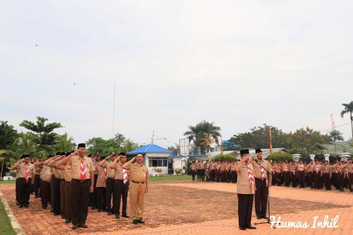 Bupati Inhil Harapkan Pramuka Beri Dukungan terhadap Program Pemerintah