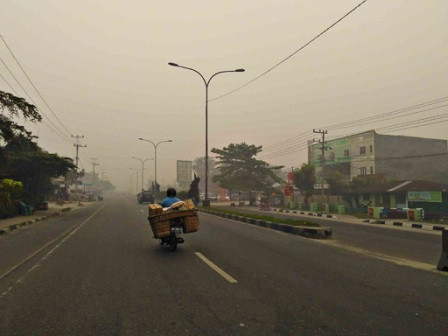 Haze causes more sickness in Riau