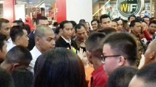 Presiden Jokowi Tiba-tiba Nongol di Mall Ciputra Pekanbaru