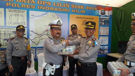 Tim Supervisi Polda Riau Kunjungi Sejumlah Pos Operasi Lilin Inhil