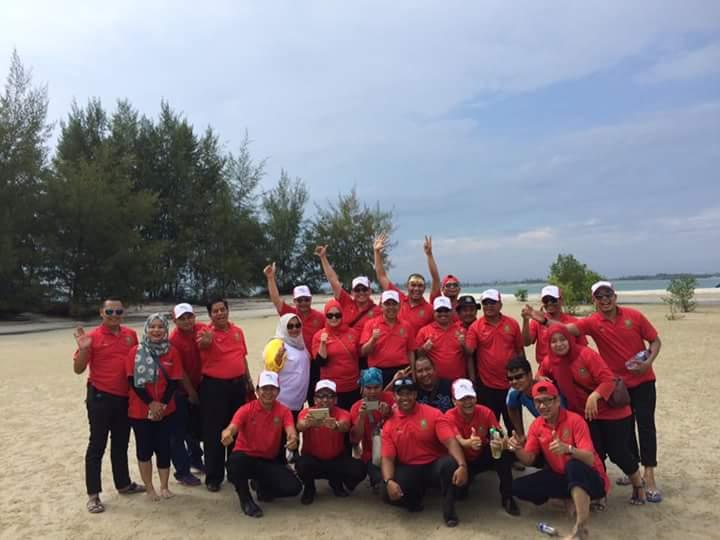 Gubri Takjub Dengan Keindahan Pulau Beting Aceh di Rupat Utara