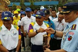 Obor Asian Games 2018 Diharapkan Bisa Membakar Semangat 25 Atlet Riau