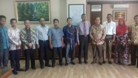 Matangkan Persiapan Kedatangan Panglima TNI, KAHMI Riau Temui Rektor UIN Suska