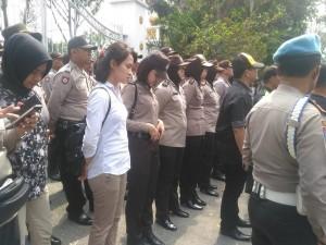 80 Polwan Bakal Amankan Demo Mahasiswa UIR di DPRD Riau