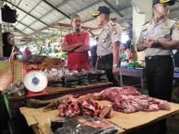 Sidak Pasar, Polisi Pekanbaru Janji Tindak Tegas Pedagang Nakal