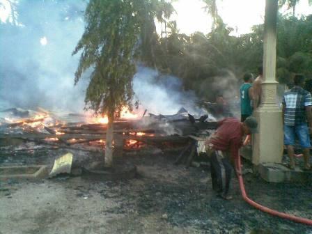Ponpes Anwarul Ulum di Inhil Kebakaran, Semoga Ada Dermawan yang Membantu Membangunnya Kembali