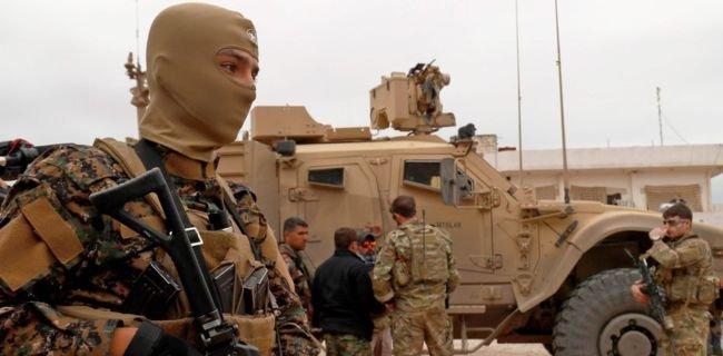 AS Genjot Serangan Di Suriah Pasca Trump Umumkan Penarikan Pasukan