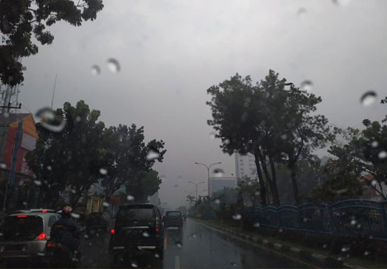 BMKG:Riau Masih Berpotensi Diguyur Hujan Lebat