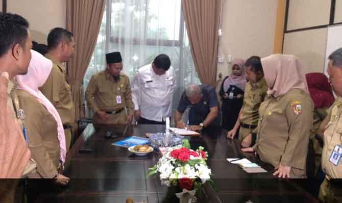 Wali Kota Pekanbaru Firdaus ST MT Mengaku Kecewa Dengan Nasri, ST