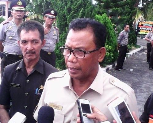 Suyatno  Kalah di Kecamatan Tanah Putih, Suryadi,SE Camat Tanah Putih Usul Pindah Jadi Camat Pujud