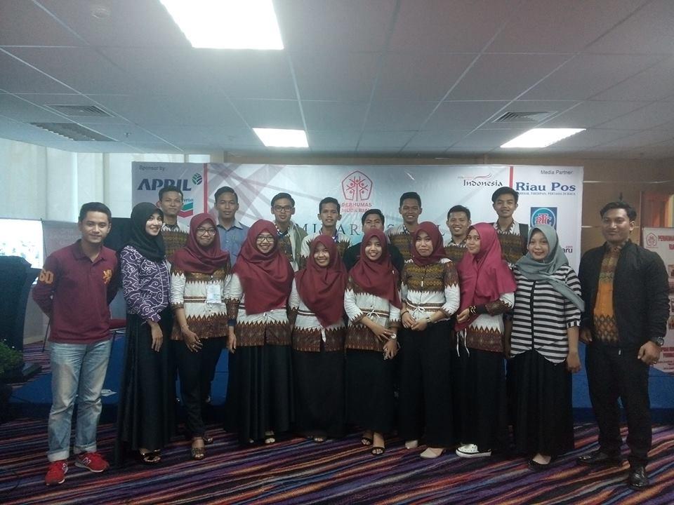 Taufik dan Ilham Nahkoda Baru Perhumas Muda Riau Periode 2017-2019