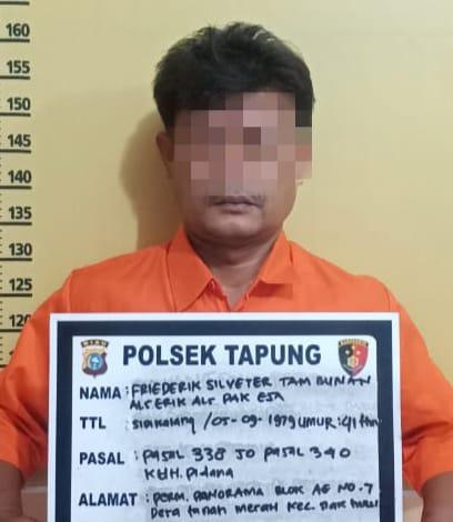 Polsek Tapung Ungkap Pelaku Pembunuhan Wanita di Kebun Sawit