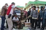 BB KSDA Riau Amankan Empat Penjual Kulit Harimau dari Sumbar