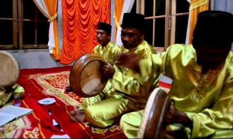 Grup Kompang Bengkalis Pikat Undangan Nikahan di Malaysia