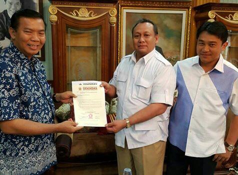 Pasangan Firdaus-Ayat Resmi Dapatkan Dukungan dari Partai Gerindra