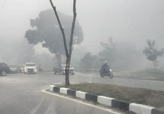 Warga Keluhkan Asap Muncul Lagi di Pekanbaru