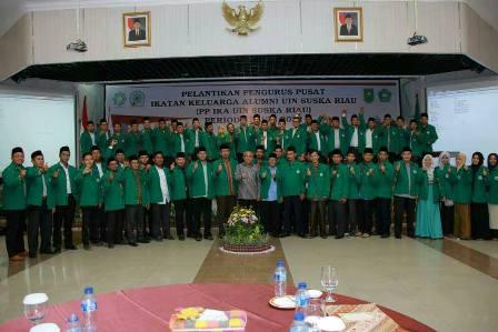 PP IKA UIN Suska Riau Resmi Dilantik