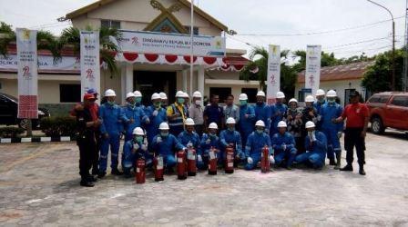 PLN UIP II Sumbagut Gelar Pelatihan Keselamatan Ketenagalistrikan Bagi Pekerja dan Mitra