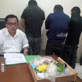 Pengacara Aktif dan Wartawan Gadungan Diringkus Polisi,  Diduga Terlibat Sebagai Pengedar Narkoba