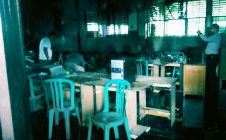 Labor SD Santa Maria Pekanbaru Terbakar
