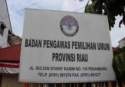 Bawaslu Riau Buka Rekrutmen 17.636 Pengawas TPS
